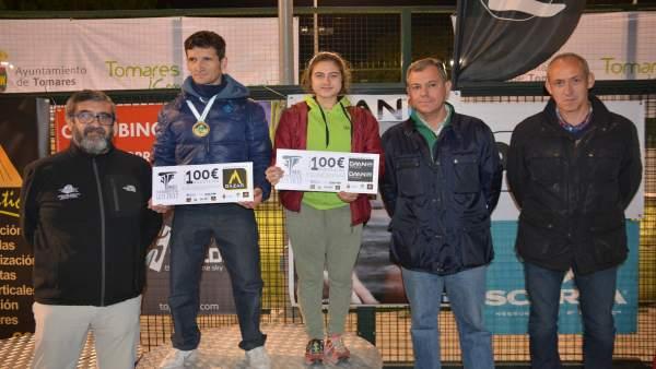Los ganadores de la Copa de Andalucía de Escalada de Dificultad en Tomares