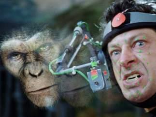 Andy Serkis / César en 'El planeta de los simios' y Gollum en 'El señor de los anillos'