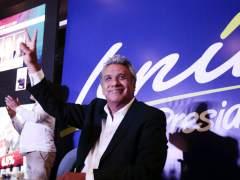 El candidato de Correa, a la cabeza en Ecuador