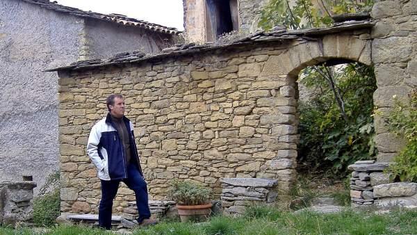 Faustino Calderón, autor del blog 'Los pueblos deshabitados'