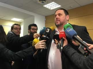 Oriol Junqueras, vicepresidente del Govern.