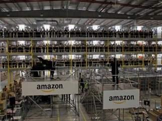 Centro logístico de Amazon en San Fernando de Henares (Madrid)