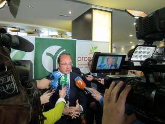 El Presidente De La Comunidad, Pedro Antonio Sánchez