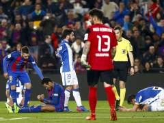 "Mantovani: ""Para mí no es penalti, Neymar exagera"""