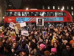 El Gobierno británico rechaza vetar la visita de Trump