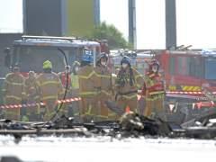Cinco muertos en un accidente de avioneta en un centro comercial de Melbourne