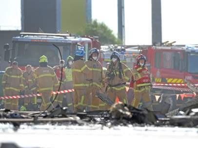 Accidente de avión en Australia