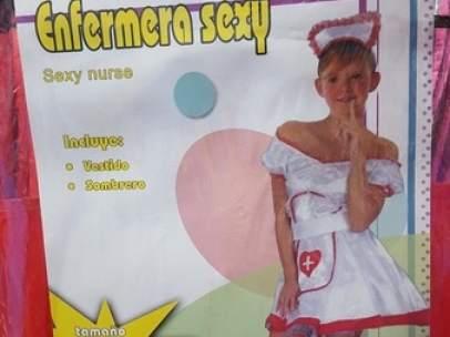 'Enfermera sexy'