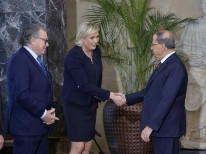 Le Pen visita Líbano