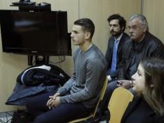 Lucas Hernández y su novia son condenados a 31 días de trabajo comunitario