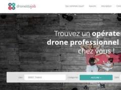 Dronestajob, el portal de empleo del sector de drones