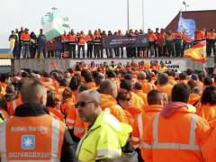 """""""Si las navieras desvían el tráfico a otros puertos, los estibadores de esos países nos apoyarán"""""""