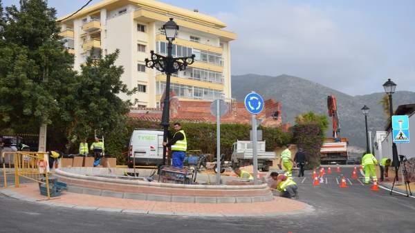 Creación glorieta calle Zarza y mejora entorno de Fuengirola