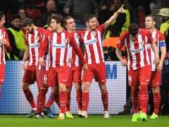 El Atlético arrasa en Leverkusen y deja casi cerrado su pase a cuartos
