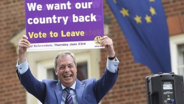 Nigel Farage y el Brexit