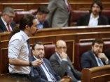 Iglesias pregunta a Rajoy en el Congreso