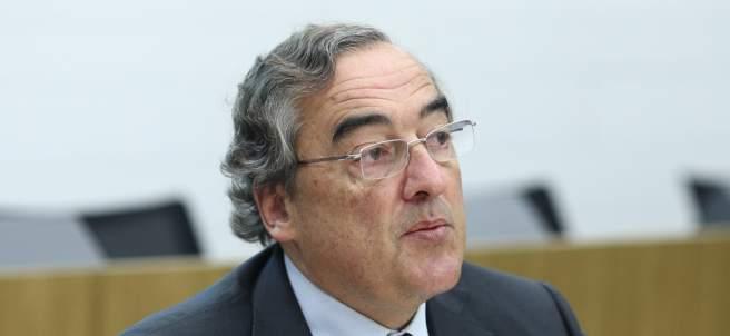El presidente de la CEOE, Juan Rosell, en un acto