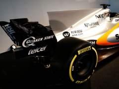 Force India presenta el coche más feo de la Fórmula 1