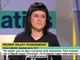 Anna Gabriel (CUP) en TV3