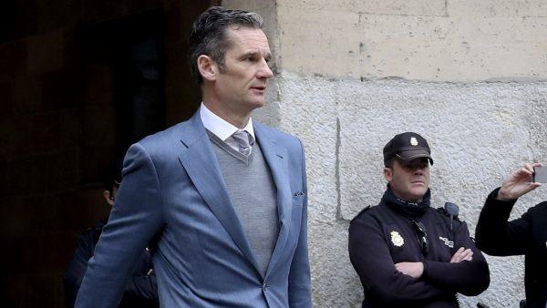 Urdangarin sigue en libertad provisional