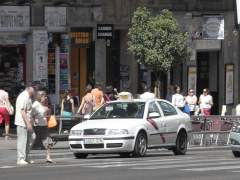Los taxistas convocan un paro de dos horas en Madrid