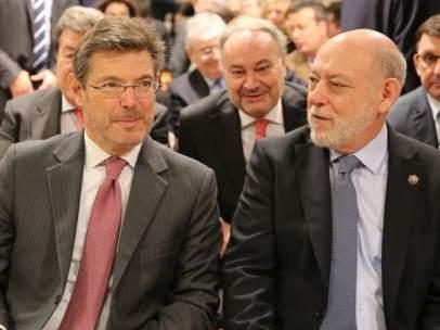 Rafael Catalá y José Manuel Maza