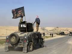 Las fuerzas iraquíes arrebatan a EI el control del aeropuerto de Mosul