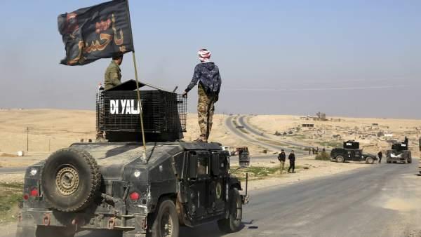 Las fuerzas iraquíes toman el control del aeropuerto de Mosul