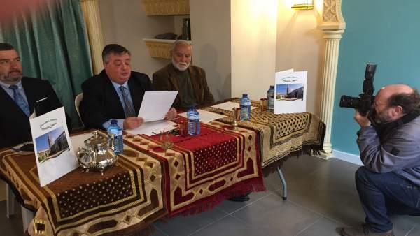 Rueda de prensa de la Comunidad Mezquita Ishbilia