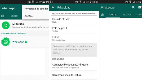 Estados de WhatsApp: Conoce