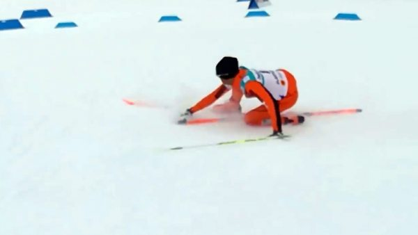 Adrián Solano, el 'Moussambani' del esquí