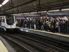 Paros parciales en el Metro de Madrid