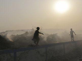 Jugando bajo una nube de contaminación