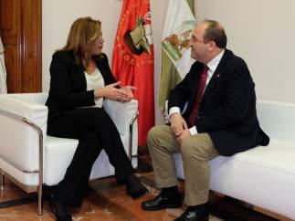 Susana Díaz y Miquel Iceta.