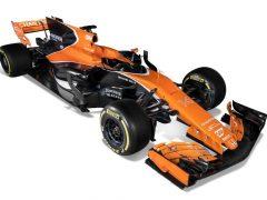Fernando Alonso presenta su nuevo McLaren