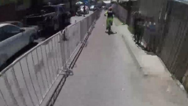 El ciclismo urbano más extremo