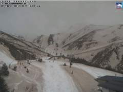 El aspecto de Sierra Nevada al juntarse la nieve y la arena del Sáhara