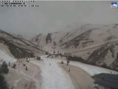 Arena y nieve