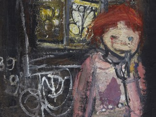Child before Tenement Window, c.1958–60 by Joan Eardley