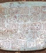 Colgante de jade maya