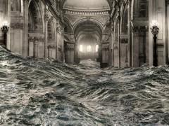 Pablo Genovés inunda la catedral londinense de San Pablo