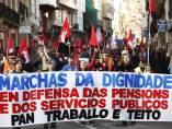 Machas de la Dignidad en Coruña