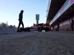 Así suena el nuevo McLaren de Alonso