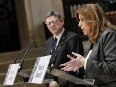 """Díaz: """"Habrá momento de hablar de quién en el PSOE y no duden de que hablaré"""""""