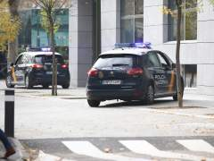 Un coche de Policía Nacional