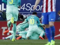 El Barça tira de pegada, toma el Calderón y apunta a la Liga