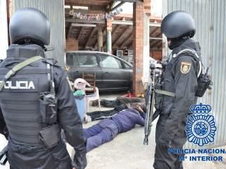 Detención de cinco narcos en Reus.
