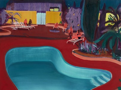 Jules de Balincourt  - Valley Pool Party, 2016