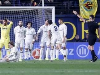 Gil Manzano en el Villarreal - Real Madrid
