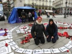 Mujeres en huelga de hambre para pedir la dimisión del número 2 de Sanidad